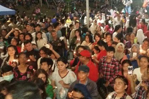 Perayaan Ultah Jokowi-Ahok di Kalijodo Diakhiri Aksi Menyalakan Lilin