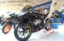Deretan Motor Modifikasi Suzuki di Jakarta Fair 2017