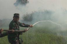 Pangdam Sriwijaya Ikut Padamkan Kebakaran Lahan di Ogan Ilir