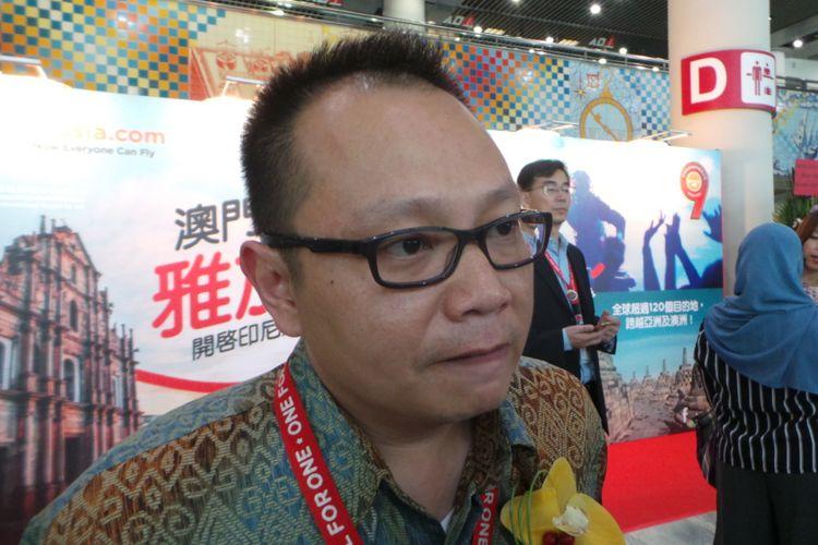 Direktur Niaga AirAsia Indonesia Rifai Taberi