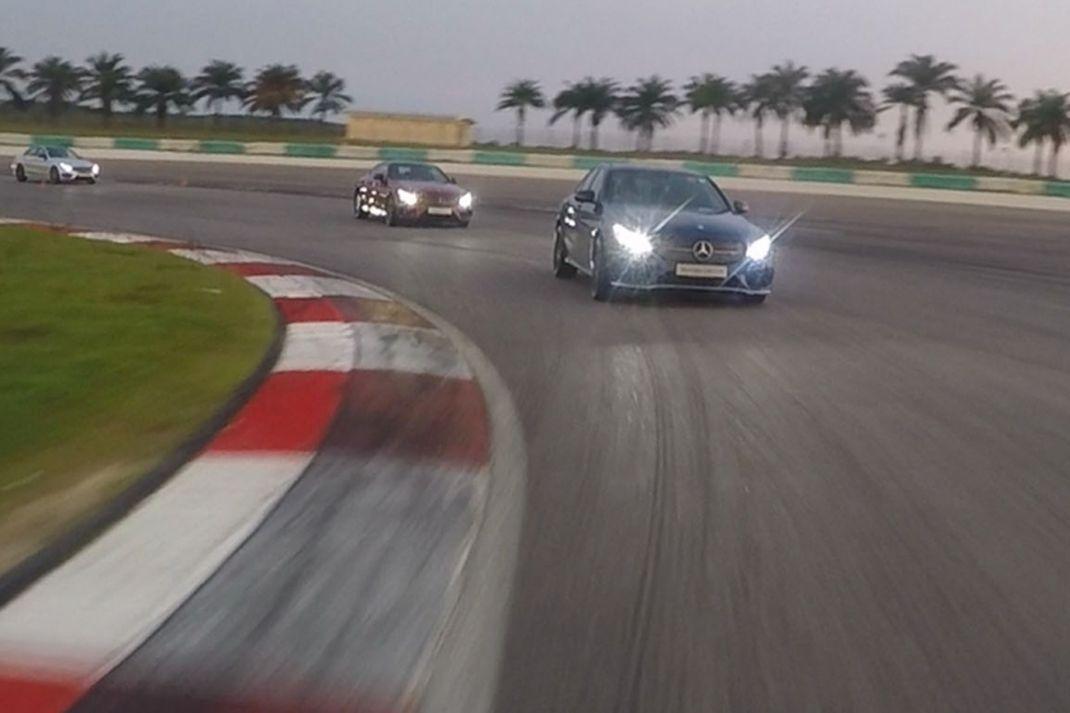 Mercedes-Benz Driving Experience di sirkuit Sepang