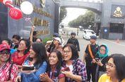 Dilarang Kumpul di Depan Mako Brimob, Pendukung Ahok Pergi ke Kalijodo