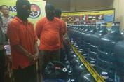 Polisi Bongkar Pabrik Aqua Oplosan di Pondok Cabe
