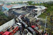 Polisi Olah TKP untuk Mengetahui Penyebab Kebakaran di Pabrik Mercon