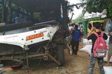 Seruduk Truk di Turunan Jalur Tengkorak Pantura, Sopir Bus Tewas