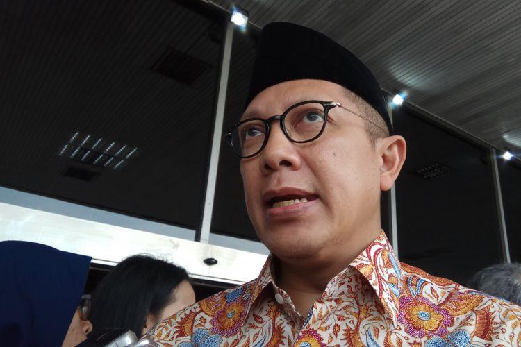 Menteri Agama Lukman Hakim Saifuddin di Jakarta, Jumat (18/8/2017).