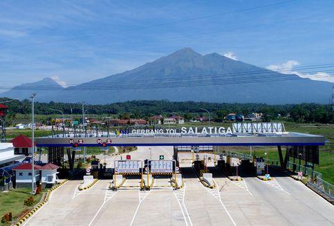 TMJ akan Berlakukan Sistem Transaksi Tertutup Tol Semarang-Salatiga
