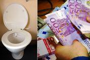 Misteri, Uang Bernilai Ratusan Juta Rupiah Sumbat Pipa Toilet