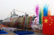 China Luncurkan Kapal Perusak Baru, Berbobot 10.000 Ton