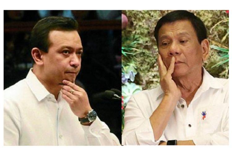 """""""Perang"""" Duterte Vs Trillanes, Hancurkan atau Dihancurkan..."""
