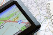 Peta dengan Sinyal Radar untuk Pengemudian Otomatis