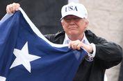 Trump Sumbang Rp 13,3 Miliar untuk Korban Badai Harvey