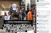 UU Anti-Burka, Pria Berkostum Maskot Hiu Pun Dikenai Sanksi