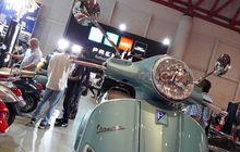 Produk Vespa dan Piaggio Diserbu Pengunjung
