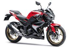 Penyegaran Motor Telanjang 250 Cc Kawasaki