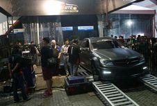 Mercy C63 dari Bandung, Jawara di Mesin Dyno