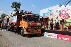 Honda Gendong 1.006 Motor Pemudik ke Yogya-Semarang