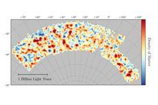 Peta Materi Gelap Paling Akurat Sepanjang Masa Dirilis