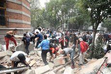 Korban Gempa di Meksiko Terus Bertambah, Sudah 138 Orang Tewas