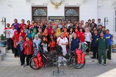 Selama 304 Hari, Hakam dan Istri Genjot Sepeda dari Malang ke Kairo