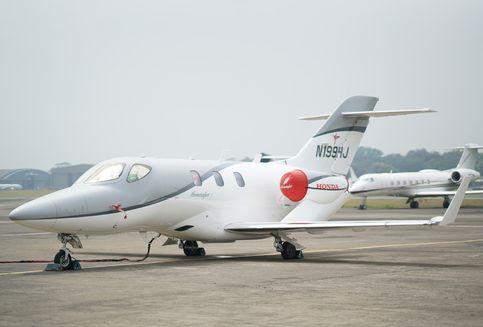 Jet Honda Mendarat Pertama Kali di Indonesia