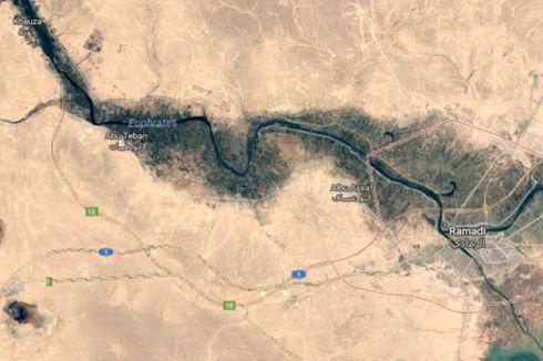 Serangan Jet Tempur Rusia di Sungai Efrat, 16 Warga Sipil Tewas