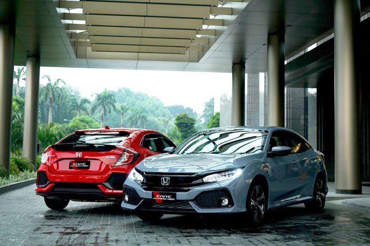 Honda Civic Hatchback Turbo bantu penjualan Honda pada Juni 2017.