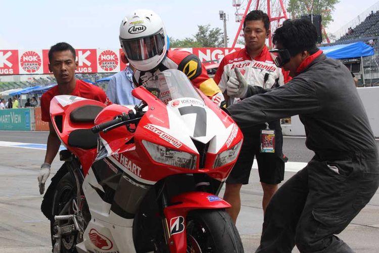 Pebalap Indonesia di Suzuka 4 Hours.