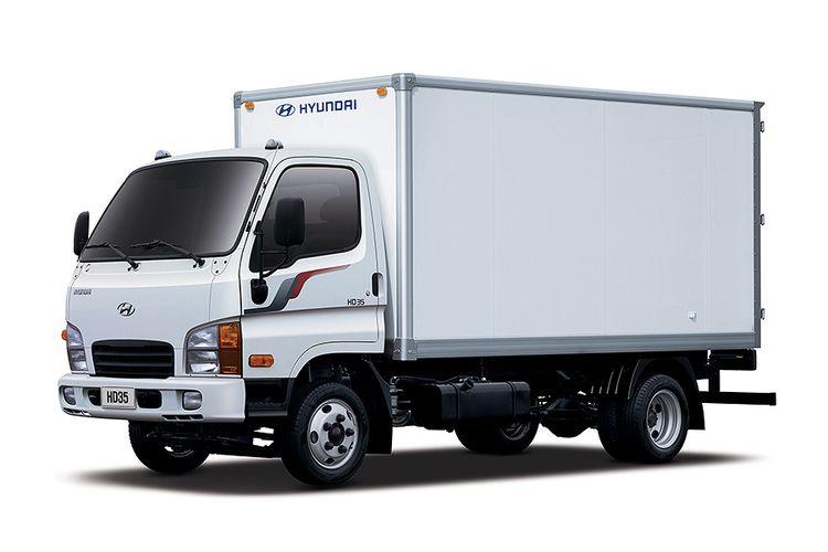 Truk ringan Hyundai. Merek ini akan menginvasi Indonesia mulai tahun ini.