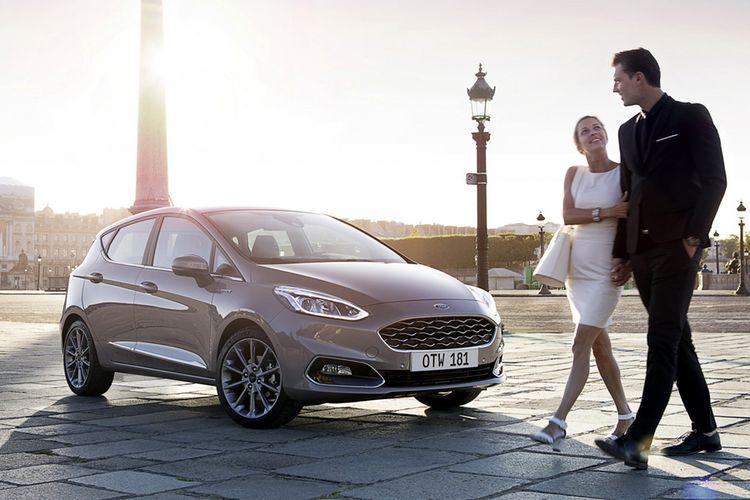 Ford Fiesta meluncur di Eropa.