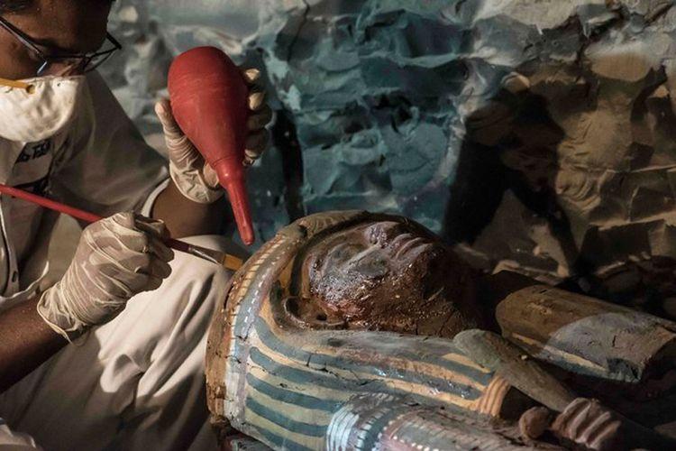 Arkeolog Temukan Makam Ahli Emas Kerajaan Mesir Kuno