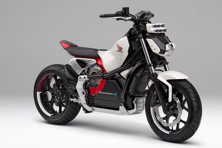 Honda Riding Assist-e Concept siap ditampilkan di Tokyo Motor Show 2017.
