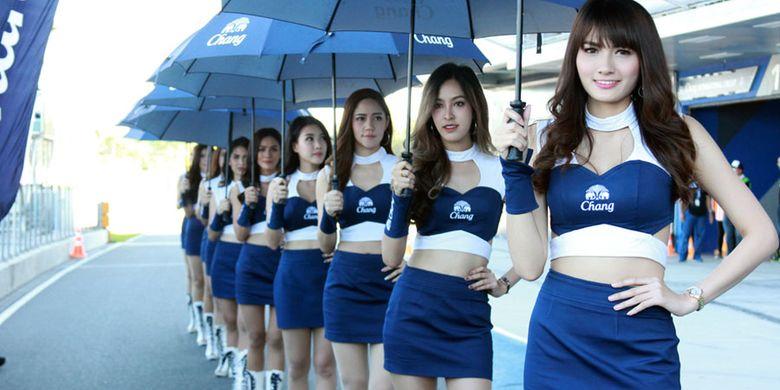 Pesona Gadis Thailand di Sirkuit Buriram