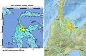 Gempa Poso Sebabkan Jalan Retak dan Mengeluarkan Asap Berbau Belerang