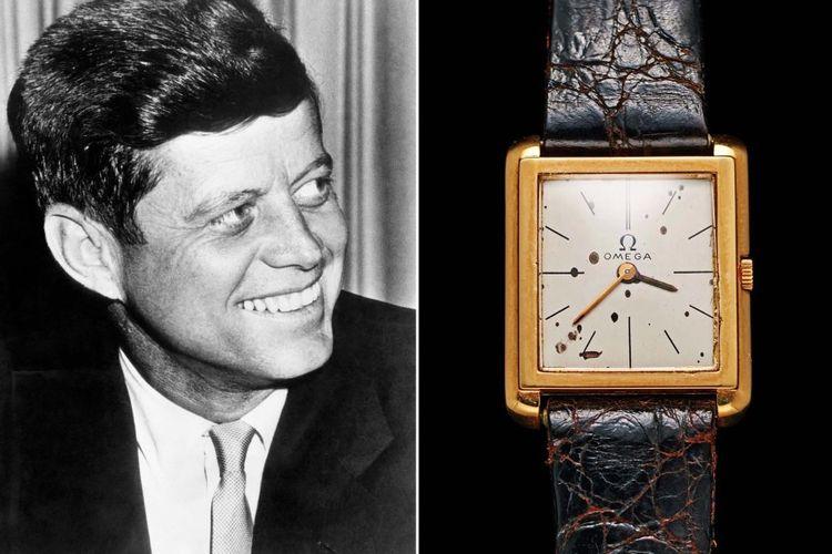 John F. Kennedy + a custom inauguration Omega