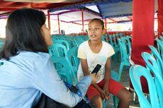 Kisah Febby, Anak Papua yang Bertemu dan Menerima KIP dari Jokowi