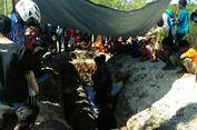 Warga Kabupaten TTS Hadiri Proses Adat Penguburan Buaya