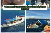 Kapal Pengangkut Wisatawan Asing Tenggelam di Pulau Komodo