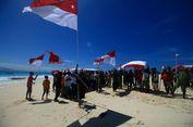 Saat Warga Pulau Terluar Upacara Bendera HUT RI untuk Pertama Kalinya