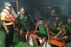 Perjuangan 4 Anggota TNI Bertahan di Laut hingga Ditemukan Tim SAR