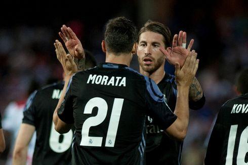 Jelang Gabung ke Chelsea, Morata Pamit ke Skuad Real Madrid