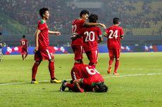 Tiga Gol Timnas Indonesia Tundukkan Perlawanan Kamboja