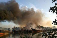 BPBD Pastikan Kapal yang Terbakar 12 Unit, Kerugian Miliaran Rupiah