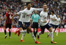 Hasil Pekan Ke-8 Liga Inggris, Tottenham Tempel Duo Manchester