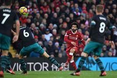 Hasil Liga Inggris, Salah Jadi Bintang Kemenangan Liverpool