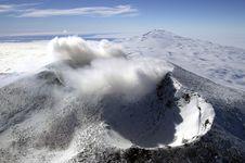 Peneliti Temukan 91 Gunung Berapi Baru di Antartika