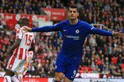 Hasil Liga Inggris, Hat-trick Morata Antarkan Chelsea Menang Telak