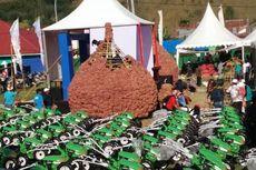 Ada Gunungan Bawang Setinggi 5 Meter dalam Festival Bawang Indonesia