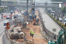 2.551 Pohon Ditebang demi Proyek Pembangunan LRT di Jakarta