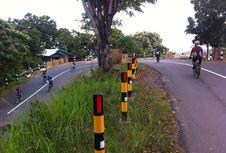 Jelajah Sepeda Flores Kompas Etape IV Berakhir Evakuasi